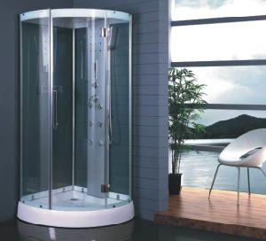 Corner Tub Shower Combo Steam Shower