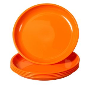 Cheap High Quality Melamine Round Shape Color Print Kitchen Dishes pictures & photos