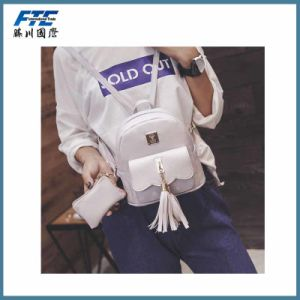 Fashion Women Bagpack with PU for Girl pictures & photos