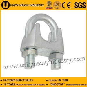 Electro Galvanized Malleable DIN 741 Wire Rope Clip pictures & photos