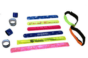 Customized Reflective Slap Band for Safety pictures & photos