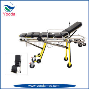 Aluminum Alloy Wheelchair Ambulance Stretcher pictures & photos