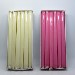 "Hot Selling 10"" Glitter Taper Candle Wholesale pictures & photos"