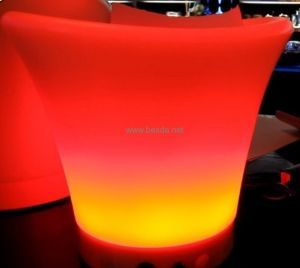 7 Colors Changing LED Ice Bucket Advertising Bucket Promotion Bucket