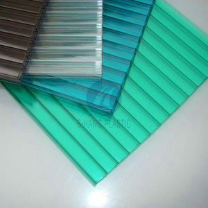 High Quality Polycarbonate PC Hollow Sheet for Greenhouse pictures & photos