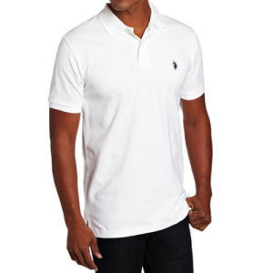 Men′s Solid Polo Shirt with Small Logo pictures & photos