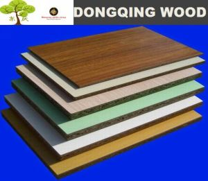 18mm Melamine Particle Board for Furniture and Cabinet pictures & photos