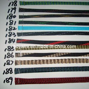 Pet Expandable Braided Textile Cable Sleeving pictures & photos