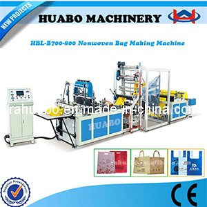 Non Woven D-Cut Bag Making Machine pictures & photos