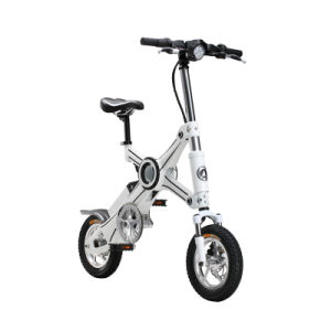 Two Wheel Folding Electric Bike with Removable Panasonic Lithium Battery pictures & photos