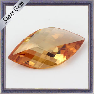 Beautiful Shining L-Champagne Leaf Cut CZ Jewelry pictures & photos