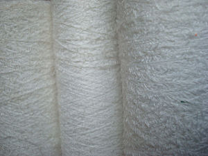 3mm Twill Hair Yarn -100% Polyester-13 Nm pictures & photos