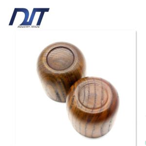 6cm Custom Logo Eco-Friendly Handmade Wooden Beer Mug pictures & photos