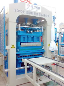 Concrete Block Making Machine Hqty6-15