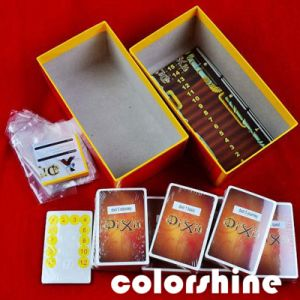 Brown Square Printing Play Card Book Box Set pictures & photos