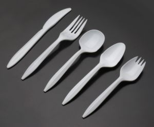 PP Plastic Type Disposable Plastic Cutlery pictures & photos