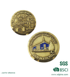 Cheap Custom American Souvenir Gold Coins (W-45) pictures & photos
