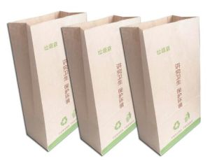 Biodegradable Kraft Paper Garbage Bag pictures & photos
