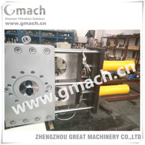 Double Plate Continuous Hydraulic Screen Changer for Plastic Extruder pictures & photos