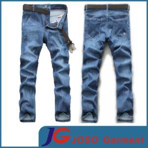 Factory Light Blue Jean Trousers for Men (JC3212) pictures & photos