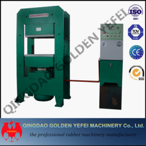 China Slab Side Vulcanizing Press Rubber Vulcanizer Machine pictures & photos