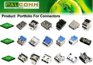 USB 2.0 Connector, a Type, Right Angle Through Hole Type, ISO16949 Approved pictures & photos