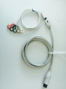Disposable ECG Cable Carbon Fiber ECG Cable pictures & photos