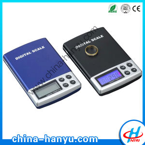 2000g Black Low Price Electronic Pocket Scale (DS-01)