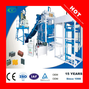 Manufacturer Direct Supplier Fully Automatic Cement Block Making Machine (QT8-15)