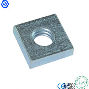 Steel Zinc Plated DIN562 Square Thin Nut pictures & photos
