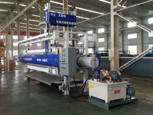Program Controlled Auto1000 Membrane Filter Press With Cloth Wash System pictures & photos