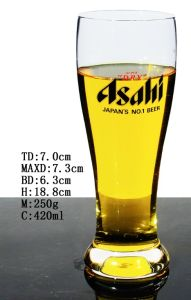 Superior Quality Mouth Blown Crystal Glass Beer Mug pictures & photos