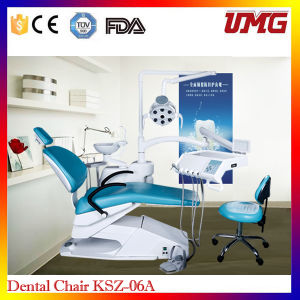 Dental Equipment Supplies Real Leather Used Dental Chair Sale pictures & photos