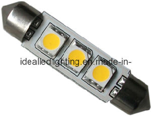 Festoon Bulb 42mm 3LED 10-30V Car Lamp pictures & photos
