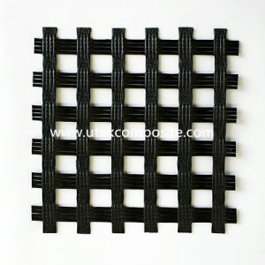 100/200 Kn/M High Strength Fiberglass Geogrid with CE pictures & photos
