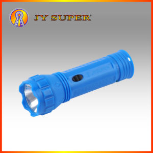 Jysuper 0.5W LED Rechargeable Flashlight Torch for Outdoor (JY-9191)