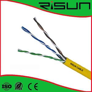 3 Pairs Twisted Unshielded Telephone Cable, Cat3 pictures & photos