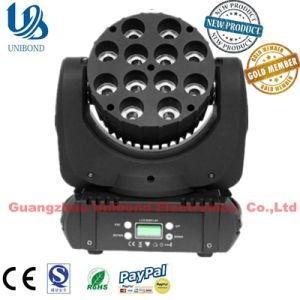 12PCS RGBW 4in1 LED Stage Moving Head Light pictures & photos