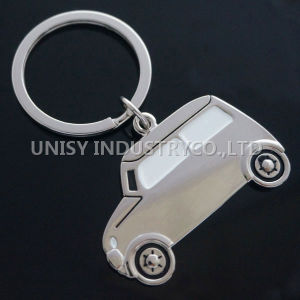 2014 Year Promotional Car Shape Metal Keychain, Zinc Alloy Keychain