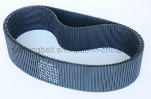 Steel Cord Chinese Rubber Timing Belt / Synchronous Belt for Rice Processing Machine