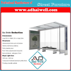 Bus Shelter, Bus Stop, Lateral Scrolling Light Box pictures & photos
