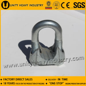 Us Type Malleable Casting Iron Steel Wire Rope Clip pictures & photos