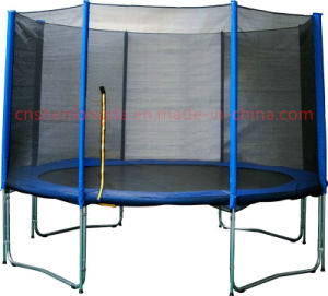 Hot Selling 10FT-4W Leg Trampoline with External, Outdoor Trampoline pictures & photos
