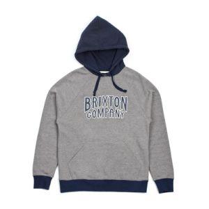 Men′s Cotton/Polyester Brushed Fleece Hoodie Sweatshirt