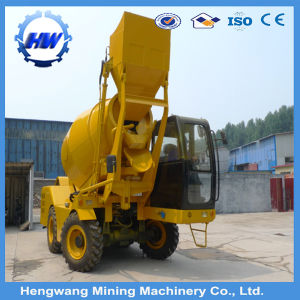 3.5cbm Self-Loading Concrete Mixer with Best Price pictures & photos