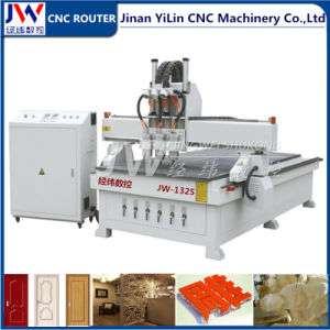3D Multi Head 3 Spindles CNC Router Machine for Engraving Carving pictures & photos