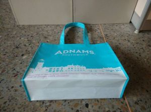 Coated PP Nonwoven or Woven RPET Shopping Bag with Handle pictures & photos