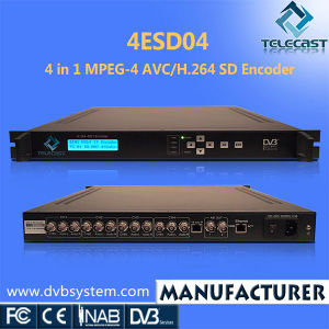 4 in 1 MPEG-4 AVC/H. 264 SD Encoder (4ESD04)