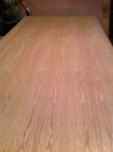 Teak/Red Oak Fancy Plywood for Furniture pictures & photos