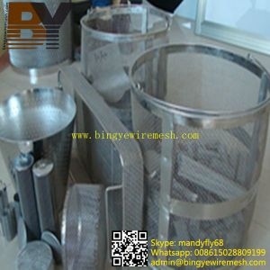 Stainless Steel Wire Mesh Filter Element pictures & photos